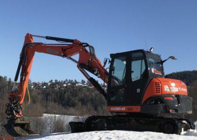 Kubota 080 8 tonn